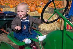 Pumpkin Point Farms in Riverton (pick-your-own, tractors, kids corn maze, etc.)