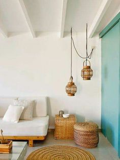 The lampshades for a porch