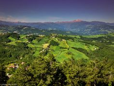 "View of Apennines from Montese - ""Italian Hospitality in the Apennines"" by @ThePlanetD Travel Travel"