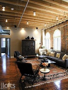 107 south street  boston | This superb Leather District loft blends clever interior design within ...