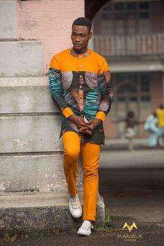 African Men Trending Ideas That Will Blow Your Mind. The post African Men Trending Ideas That Will B Nigerian Men Fashion, African Fashion Dresses, African Outfits, African Attire, African Wear, African Women, African Dress, African Style, Trendy Fashion