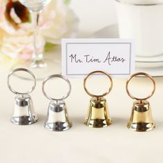 weddingstar classic round place card holder place card favors and weddings