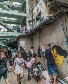 IGLOO HONG CAMBODIA - Community murals by David Choe and friends. Davidchoe.com