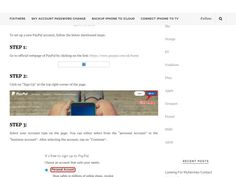 Learn How To A Setup Paypal Account?
