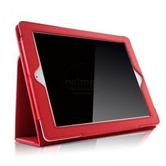 New Folding folio stand smart case For ipad 4 Case fundas For apple ipad 4 3 2 Cover magnetic pu leather Tablet accessories