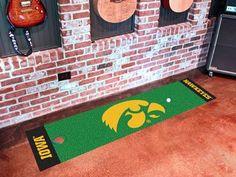 University of Iowa Golf Putting Green Mat