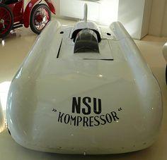 NSU Kompresor Weltrekord 1951 Ferdi Lehder Georg von Opel  white v | by stkone