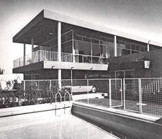Casa en Lomas, Sierra Vertientes 520, Lomas de Chapultepec, México DF 1951    Arq. Mateo Ortiz    Fotos: IE Meyers