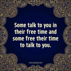 Some talk to you in their free time...