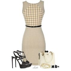 7 chic office outfits with a dress