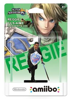 reggie fils (aime) amiibo by Nintendo of America... IF THIS IS REAL I NEED IT