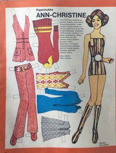 Paper doll Ann-Christine