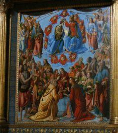 notizie  G.M.  guido michi: Cosimo Rosselli, Incoronazione della Vergine (1505...