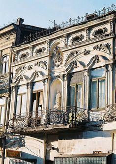 Old merchant house, Brăila, Romania Bucharest Romania, Victorian Architecture, The Beautiful Country, Moldova, Hungary, Egypt, Art Nouveau, Greece, Places To Visit