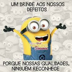 !!!!!!!!!!!!!!!!!!!!!!!!!Tipo eu! Humor Minion, Funny Memes, Jokes, Amazing Quotes, Funny Photos, The Funny, I Laughed, Haha, Laughter