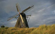 Danish windmill in Skagen