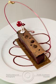 Photographies culinaires Desserts à l'assiette concours Sensibilité Gourmande Sirha 2013 par © Fabrice Beauvois • Studio Sourisdom, tous droits réservés