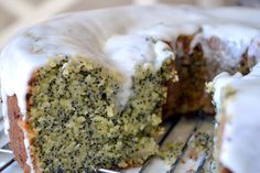 My Amaretto Poppy Seed Cake has layer upon layer of almond flavor!