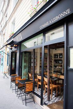 Comme à Lisbonne, restaurant & épicerie | 37, Rue du Roi de Sicile | Métro: Hôtel de ville | Paris