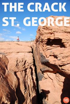 The Crack | St. George | The Salt Project | Things to do in Utah with kids | Hikes to do with kids in Utah