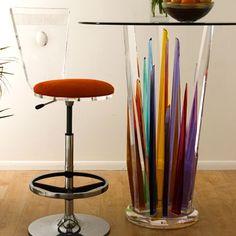 Rock Bar Table by HStudio