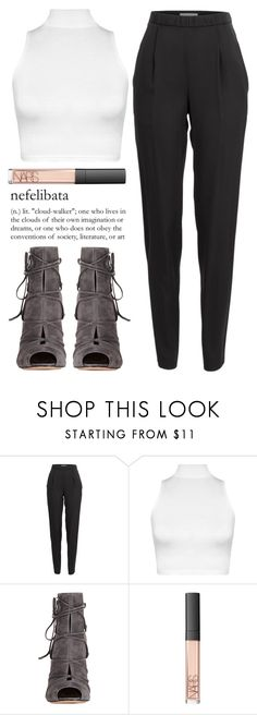 """February 22nd, 2016"" by asrdiniz ❤ liked on Polyvore featuring Vionnet, WearAll, Gianvito Rossi and NARS Cosmetics"