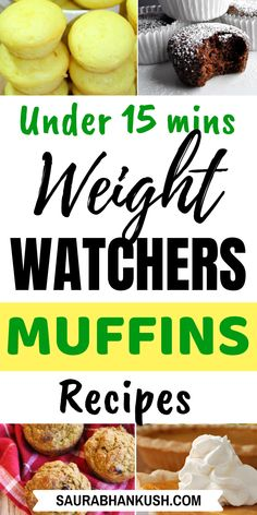 Easy Weight Watchers Muffins Freestyle With SmartPoints? Here're 9 Weight Watchers Muffins with Points like pumpkin muffins, banana muffins, oatmeal muffins and lemon muffins. They'll make your breakfast healthy so try our WW Muffins. Weight Watchers Brownies, Weight Watchers Pancakes, Weight Watchers Casserole, Weight Watchers Pumpkin, Weigh Watchers, Weight Watchers Snacks, Weight Watchers Breakfast, Weight Watcher Dinners, Healthy Cooking