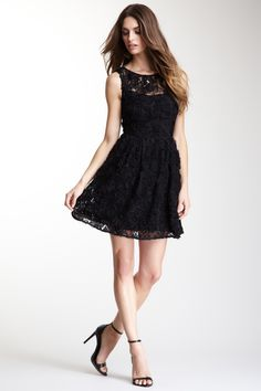 I have a thing for black lace dresses.its a lovely obsession.