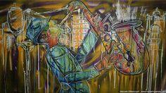 Curitiba Jazz by Marcelo Bittencourt, via Behance