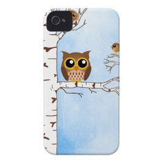 Brown Owl Case-Mate iPhone 4 Cases