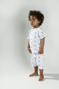 Childrens Pyjamas, Penny Farthing, Pajama Shorts, Summer Wear, Pjs, Rompers, Unisex, Suits, T Shirt