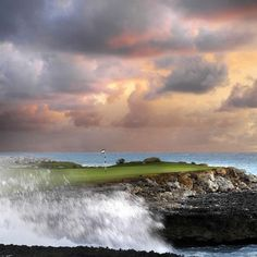 Meet Jack Nicklaus Golf Club - Cap Cana. The Golden Bear's Punta Espada course is a par 72 championship course spanning 7,000 yards, with eight holes play spectacularly along and over the Caribbean's blue waters.  Golfweek says it's the best course in all of the Caribbean and Mexico....no arguments here!