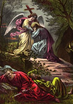 """As we begin our """"Lenten Journey,"""" this is where Christ's Passion begins. How He agonized here, he cried, He asked God the Father if """"You will, let this cup pass me by."""" He experienced loneliness, abandonment, and isolation. None of His disciples stayed awake with Him. and he """"KNEW"""" His betrayal was coming shortly. He saw all of our future sins to come. He was afraid. This here is where His great suffering and Agony begin. The Garden of Gethsemane."""