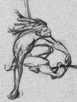 THE ART OF GLEN KEANE.: TARZAN