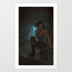 Buy Reborn by juls illustrated as a high quality Art Print.  Worldwide shipping available at Society6.com. Just one of millions of products available.  Lara Croft Tomb Raider illustration digital painting art
