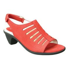 Women's David Tate Lexus Slingback Sandal Nubuck (US Women's (Narrow))