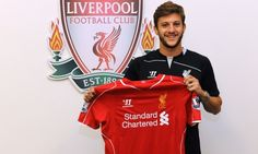 Adam Lallana (ENG) - From Southampton (ENG) to Liverpool FC (ENG) - 2014 - 25 million pound