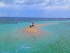 西表島のバラス島。サンゴで出来た奇跡の島。