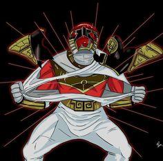 White Ranger To Red Zeo Ranger