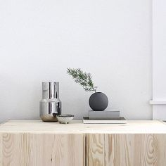 Love the grey ball vases from Cooee |  styled here by @amerrymishap  |  Photo taken by @seekandstyle