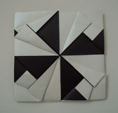 Origami Quilt, Origami And Kirigami, Origami Boxes, Origami Ideas, Diy Paper, Paper Crafts, Carton Diy, Paper Folding, Quilling