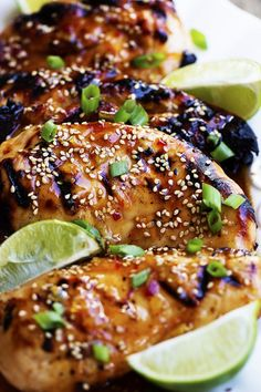 Delicious and easy grilled chicken with a sweet chili lime glaze. The flavor is amazing and will be one of the best things you grill this summer! I sure do love summer. And me and my kiddos are having a blast. And by having a blast I mean giving them the hose and buying a …