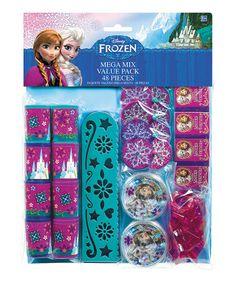 Look at this #zulilyfind! Frozen Mega Mix Party Favor Set by Frozen #zulilyfinds