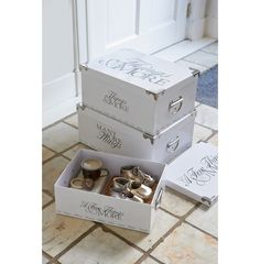 A few things & more storage box set € 39,95 #living #interior #rivieramaison