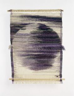 "Lenore Tawney, Jupiter, 1959. ""I become timeless when I work with fiber. Each line, each knot is a prayer,"""