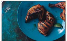 Peruvian Style Grilled Chicken With Green Sauce | Recipe | Grilled ...