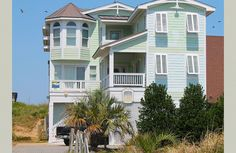 """The ultimate Nags Head vacation experience awaits you in this beautiful 12 bedroom oceanfront vacation rental. """"The Stars"""" is conveniently located at the """"Hot Spot"""" in Nags Head near shopping, restaurants, art galleries and local attractions. With 10 WELL-APPOINTED MASTER SUITES, there's no shortage of optimum privacy, relaxation and romance. HEATED POOL DATES 04/17- 6/6  AND 09/4 TO 10/23/15 - WEATHER PERMITTING - cost is $800. Sheets and towels are provided year round for full week"""