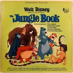 #throwbackthursday #tbt - Aahh #disney #readalong on #lp #vinyl stories. Shouts out to The Jungle  Book (1967) as @the_junglebook is released in #nz cinemas today.  I'm planning to see it this evening...I'm super excited as I've loved this #rudyardkipling story ever since I was a kid and my Granddad would read it to me. Can't wait to see the new imaginings of #mowgli #baloo #kinglouie #bagheera #sherekhan #kaa #hathi What was your favourite @disneyaunz film as a kid? #thejunglebook…