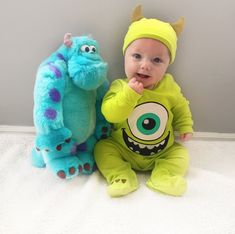 This Dad Has Dressed His Son Up in So Many Disney Costumes, It's Impossible to Pick a Favorite Mike and his BFF, Sully.<br> It's impossible to pick a favorite! Baby Halloween Costumes For Boys, Baby First Halloween, Baby Boy Halloween Costumes, Costumes For Babies, Best Baby Costumes, Halloween Baby Pictures, Halloween Parties, Happy Halloween, Cute Kids