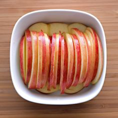 Raw Apple Snack